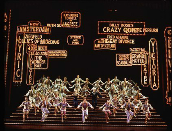 13. <i>42nd Street</i> played 3,486 performances between 1980 and 1989 and won two Tony Awards including Best Musical.