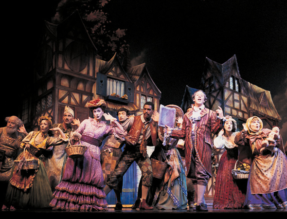 8. <i>Beauty and the Beast</i> played its 5,461st and final performance on July 29, 2007. <br />(© Joan Marcus)