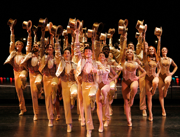 6. <i>A Chorus Line</i> played 6,137 performances and won nine Tony awards including Best Musical. <br />(© Paul Kolnik)