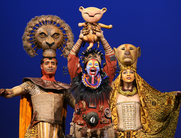 5. <i>The Lion King</i> has played over 6,500 performances and shows no signs of stopping. <br />(© Joan Marcus)