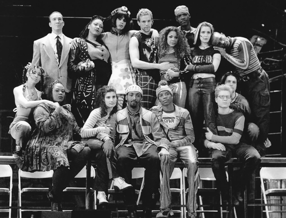 9. <i>Rent</i> played 5,123 performances between 1996 and 2008 and won four Tony Awards including Best Musical.