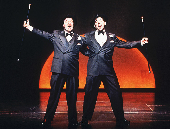 24. In 2001<i>The Producers</i> set a new record for the Broadway show with the most Tonys — a record that it still holds. The show took home 12 awards including Best Musical. Seven years later <i>The Producers</i> closed after playing 2,502 performances.