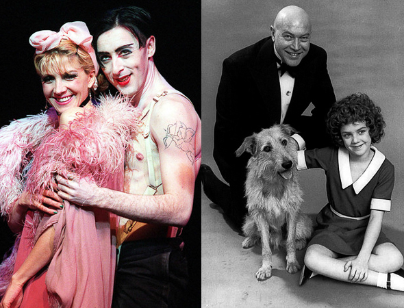 25. A tie! In 1983 <i>Annie</i> closed after 2,377 performances. In 2004 the revival of <i>Cabaret</i> ended its run with the same number. You'd think that with this knowledge the <i>Cabaret</i> producers would have said, &quot;Let's do just one more.&quot;<br />(© Martha Swope, Joan Marcus)