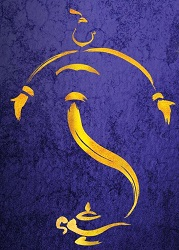 Artwork for Disney's <i>Aladdin</i>