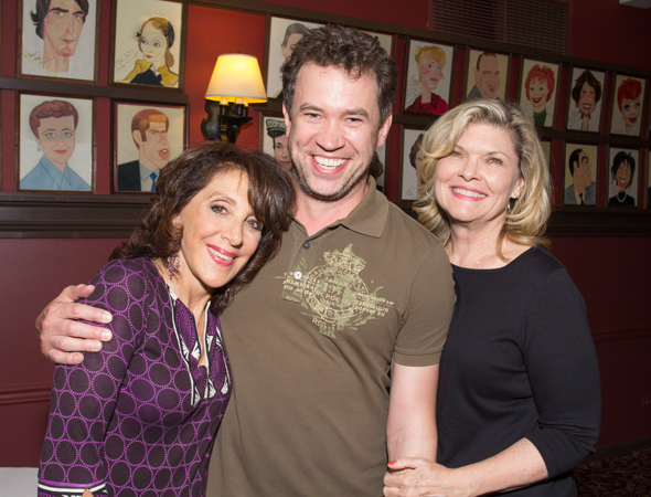 Andrea Martin with James Wesley and Debra Monk.<br />(© Seth Walters)