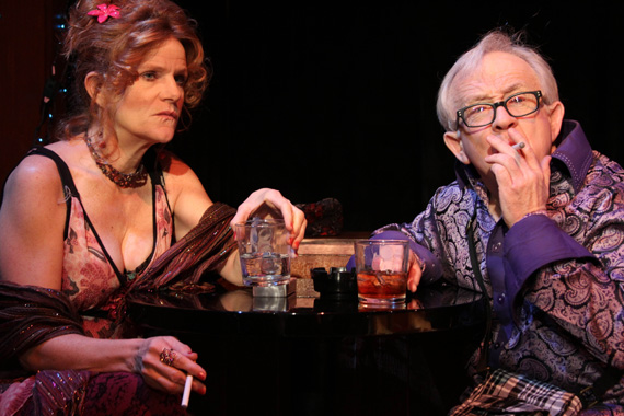 Dale Dickey and Leslie Jordan in <I>Southern Baptist Sissies</I>.
