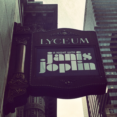 <i>A Night With Janis Joplin</i> — Lyceum Theatre<br />(© David Gordon)