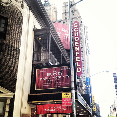 <i>The Bridges of Madison County</i> — Gerald Schoenfeld Theatre<br />(© David Gordon)