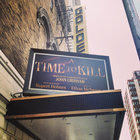 <i>A Time to Kill</i> — John Golden Theatre<br />(© David Gordon)