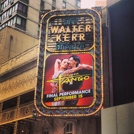 <i>Forever Tango</i> — Walter Kerr Theatre<br />(© David Gordon)