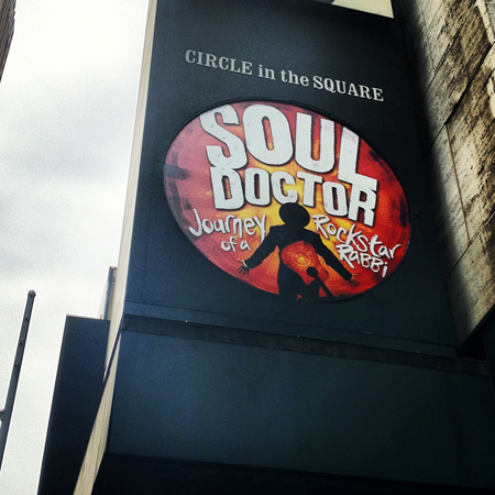 <i>Soul Doctor</i> — Circle in the Square Theatre<br />(© David Gordon)