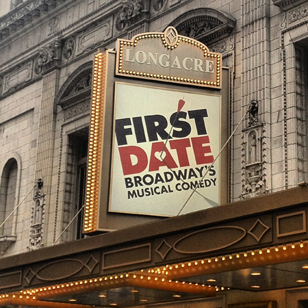 <i>First Date</i> — Longacre Theatre<br />(© David Gordon)