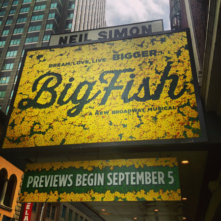 <i>Big Fish</i> — Neil Simon Theatre<br />(© David Gordon)