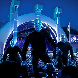 (Promotional image courtesy of Blue Man Group)