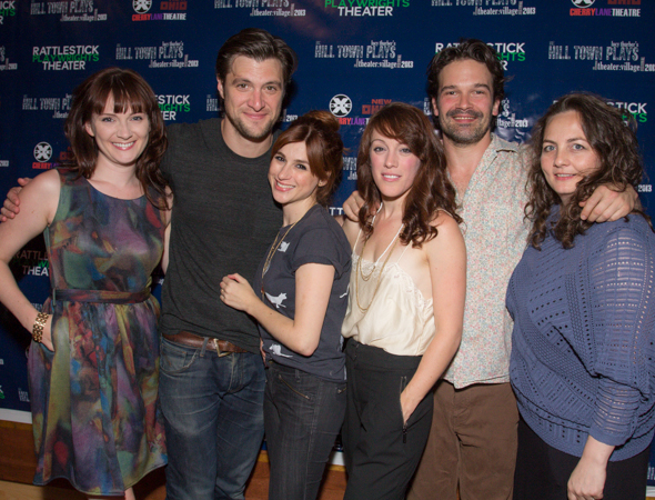 The cast of <i>Killers and Other Family</i>.<br />(© Seth Walters)