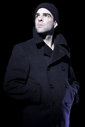 Zachary Quinto in <i>The Glass Menagerie</i>.