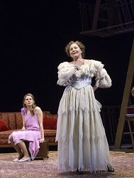 Celia Keenan-Bolger and Cherry Jones in <i>The Glass Menagerie</i>.