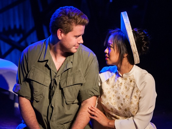 A scene from <i>Miss Saigon</i>.