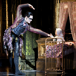A scene from Matthew Bourne's <i>Sleeping Beauty</i>.