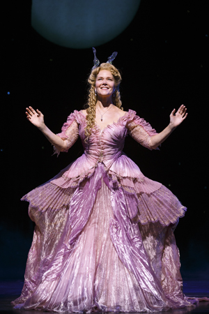 Rebecca Luker as the Fairy Godmother in <i>Cinderella</i> on Broadway.