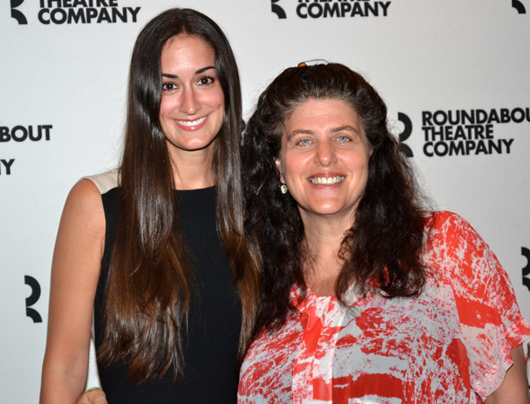 Meghan Kennedy (left) is the playwright of the next Roundabout Underground production, <i>Too Much, Too Much, Too Many</i>. Sheryl Kaller (right) is the director.<br />(© David Gordon)