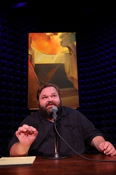 Mike Daisey in <i>All the Faces of the Moon</i>.