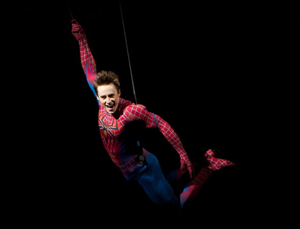 Thanks for swinging onto Broadway, Reeve!<br />(photo courtesy of the production)