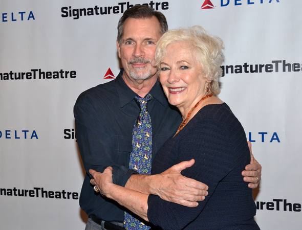 Cotter Smith and Betty Buckley lead the company of <i>The Old Friends</i>.<br />(© David Gordon)