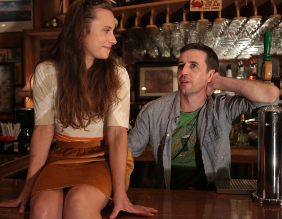 Olivia Horton and David Mitchell in <i>The Compass Rose</i>
