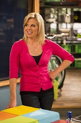 Megan Hilty on <i>Sean Saves the World</i>.