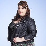 Ashlie Atkinson in a promotional photo for <i>Us & Them</i>.