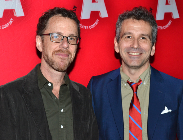 The playwright and director: Ethan Coen and David Cromer.