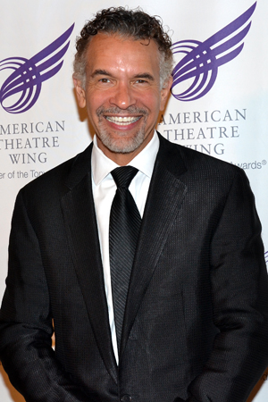 Tony Award winner Brian Stokes Mitchell appeared in Harold Prince's Broadway production of the Kander and Ebb musical <i>Kiss of the Spider Woman</i>.<br />(© David Gordon)