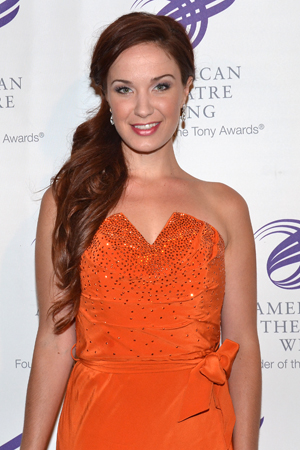 Performers included Sierra Boggess, who starred on Broadway in Hal Prince's production of <i>The Phantom of the Opera</i>.<br />(© David Gordon)