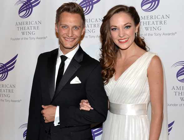 Nathan Johnson and Laura Osnes are stunning as always.<br />(© David Gordon)