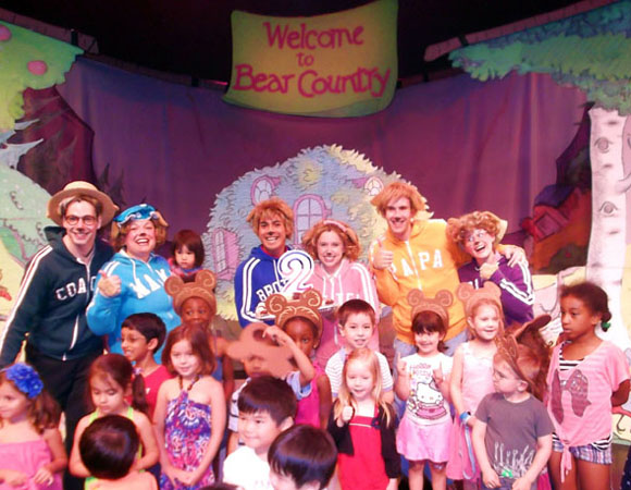 The second-anniversary celebration of <i>The Berenstain Bears LIVE!</i>