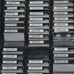 The video tapes on which McKay's interviews are stored.