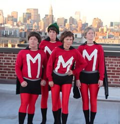 Hey, Hey! Monkees Parody Show Here We Come Is Arriving in New York City
