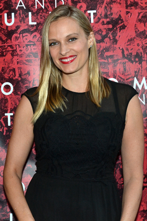 Actress Vinessa Shaw is eager to take in a Broadway opening night.<br />(© David Gordon)
