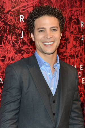 Justin Guarini plays Juliet's prearranged husband, Count Paris.<br />(© David Gordon)