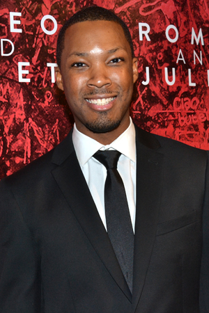Corey Hawkins plays the slain Tybalt.<br />(© David Gordon)
