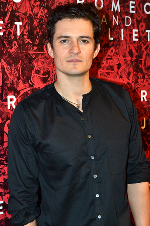 Orlando Bloom makes his Broadway debut as Romeo.<br />(© David Gordon)
