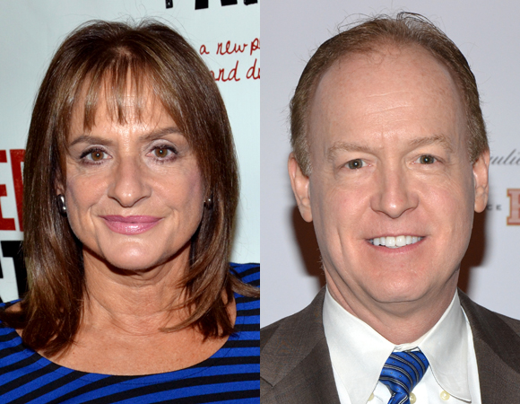 Patti LuPone and Reed Birney