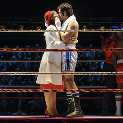 A scene from the Hamburg production of <i>Rocky</i>