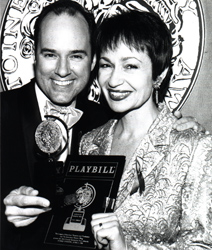 Stephen Flaherty and Lynn Ahrens at the 1998 Tony Awards.