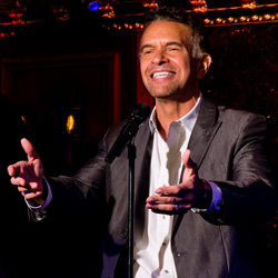 "Brian Stokes Mitchell sings ""The Wheels of a Dream"" from <i>Ragtime</i> at 54 Below."