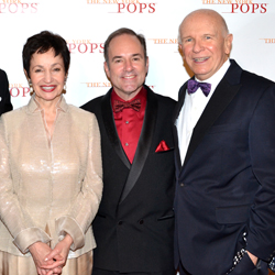 Lynn Ahrens, Stephen Flaherty, and Terrence McNally.