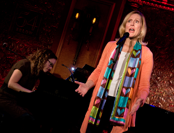 "Donna English sings ""Music Appreciation"" from <i>Princesses</i>.<br />(© David Gordon)"