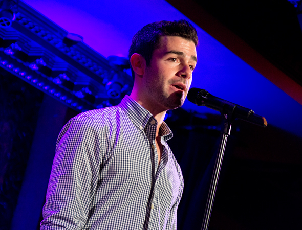 "<i>The Last Five Years</i> star Adam Kantor sings ""Shiksa Goddess.""<br />(© David Gordon)"