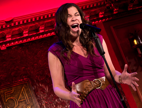 Lindsay Mendez performs a number from David Zippel's <i>Princesses</i>.<br />(© David Gordon)